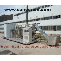Buy cheap NFC Fresh Fruit Juice Production Line from wholesalers