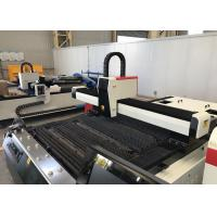 High Power Metal Pipe Laser Cutting Machine , 3KW Laser Tube Cutting Equipment Manufactures