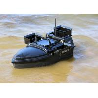China Black shuttle bait boat Style rc model / remote control fishing boat on sale