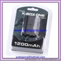 Xbox ONE Controller Battery and Chargeable Cable 2100mAh Xbox ONE game accessory Manufactures