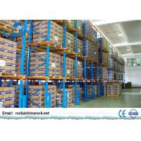 Warehouse Storage Drive In Pallet Racking System , Industrial Flow Through Racking Manufactures