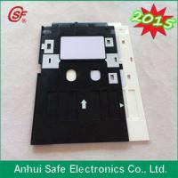 plastic inkjet pvc id card tray for Epson L800 printer Manufactures