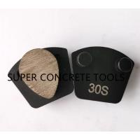 China Plug N Go Teardrop Metal Bond Diamond Toolings For Grinding and Polishing Concrete on sale