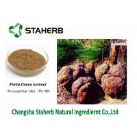 Brown Powder Poria Cocos Extract Standard Reference Material Anti - Lung Cancer Manufactures