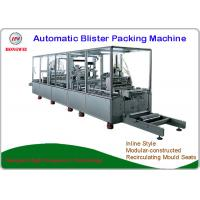 Touch Screen HMI Automatic Blister Packing Machine Labelling / Coding For Pen And Pencil Manufactures