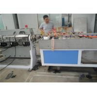 Single Screw PP PE Plastic Profile Production Line , Plastic Sheet Extrusion Line Manufactures