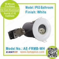 Buy cheap IP65 Bathroom White Fire Rated Downlight   Die Cast Aluminium   UK Market from wholesalers