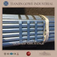 EN 10219 ERW Hot Dipped Galvanized Pipe / steel pipe for quick scaffold systems Manufactures