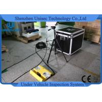UVIS Moveable Under Vehicle Inspection System Capture Car Number / Drive Face Manufactures