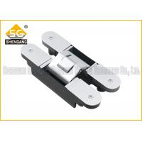 180 Degree 160*28*28*32mm Zinc alloy Adjustable Invisible Door Hinges Manufactures
