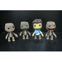 Woven Bag Effect Custom Action Figures With Little Big Planet Logo Manufactures