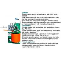 High Standardization Hydraulic Hose Machine , Double Buckle Metal Hose Pipe Making Machine For Wires