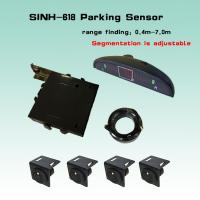 China trailer truck Reverse Parking Sensor with 4 sensors   the detection range is adjustable on sale