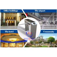 Access Control Turnstile For Office Building / Hotel / Airport / Community Manufactures