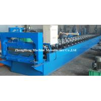 China 380V 3 Phases Steel Roofing Sheet seam joint Roll Forming Machine / Machinery PPGI Coated on sale