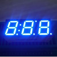 "Common anode Ultra blue 0.39"" Triple Digit Seven Segment LED Display home appliances Manufactures"