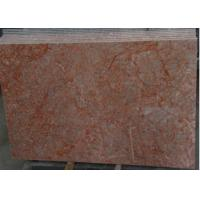 Rose Red Marble Tile , Decorative Natural Agate Floor Tiles Dolomite Type Manufactures