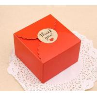 China Paper Christmas Gift Box Packaging , Cardboard Boxes For Christmas Presents on sale
