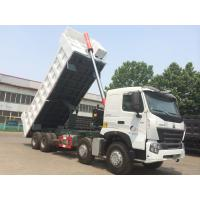 China SINOTRUK HOWO A7 8X4 Heavy Duty Dump Truck For Construction ZZ3317N3867N1 on sale