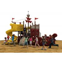 Outside Equipment For Children , Outdoor Commercial Playground Equipment Manufactures