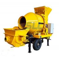 JBT30 Electric Concrete Mixer Machine With Pump Machine 100m Delivery Pipe Manufactures