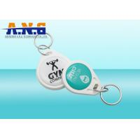 Custom NFC RFID Key Fob 13.56mhz / Epoxy Smart Card For Access System Manufactures