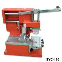 China SYC-120 Manual hot sales and retailed seal ink cup pad printing machine on sale