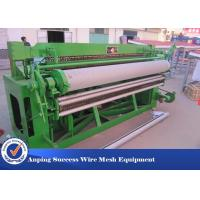 5x150 Feet Welded Wire Mesh Machine With PLC Control System 2600x1700x1350mm  Manufactures
