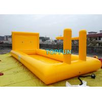 China Basketball Frame Inflatable Swimming Pools 10 x 4m Dimensions For Handle Boat on sale