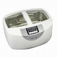 2.5L Ultrasonic Cleaner Heater for Dental/Jewelry/Watch/Lab CD-4820, Unit Measures 340x250x225mm Manufactures