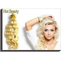 """China 7A Grade Russian Hair Blonde Color Body Wave 613# 100% Human Hair 10"""" Inch 12 Inch wholesale"""