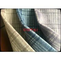 Buy cheap Factory Supply Classical 50% Plaid Checks Double Faced Wool Coating Fabric Tartan + Plain from wholesalers
