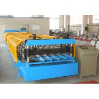 Automatic Cold Roll Forming Equipment For Galvanized Steel / Aluminum Plate Manufactures