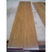 China Carbonized strand woven bamboo flooring with UV lacquer, harder than wood flooring on sale