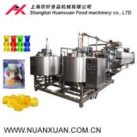 Shanghai Small capacity with low price Jelly candy production line /gelatin/pectin/gummy bear candy machine Manufactures
