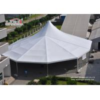 China 30m Ridge White High Peak Frame Tent Aluminum Structure Heavy Duty on sale