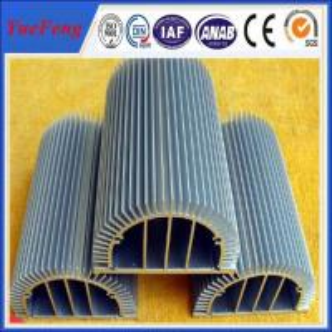 HOT! anodized aluminium factory produce aluminum extrusion profiles for leds heatsink Manufactures