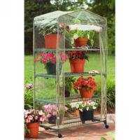 hot sale greenhouse shelf with powder coated Manufactures