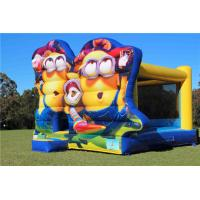 Buy cheap Plato PVC Minions Inflatable Bouncer For Kids Fun / Jumping Castle Bounce House from wholesalers