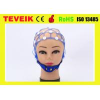 China New Separating 20 Leads EEG Cap, Medical EEG Hat for Hospital on sale