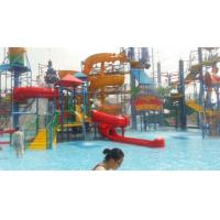 Wizard Paradise 304 Stainless Steel Water Park Playground 45 * 40 M For Kids Manufactures