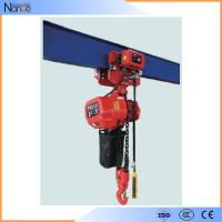 3 Ton Electric Chain Hoist Single phase With Safety Hook , IP54 / IP55 Manufactures