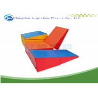 Incline Gymnastic Mats Tumbling Balance Wedge Ramp Gym Folding Exercise Yoga Manufactures