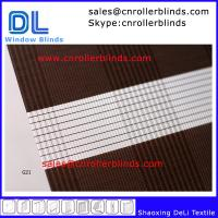 100% Polyester Combi Zebra Blinds Manufactures