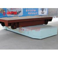 China Electric Transport Trolley Platform Warehouse Heavy Duty Material Handling Trolley on sale