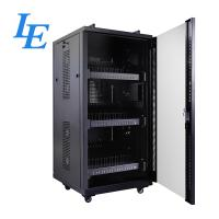 USB Server Rack Cabinet IP20 Charging Cabinet Cooling Fan System Two Handles On for sale