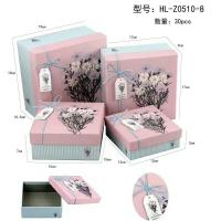 Lovely Craft Jewelry Packaging Paper Box , Decorative Cardboard Gift Boxes With Lids Manufactures