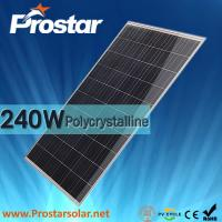 Prostar poly 240w cheapest solar pv panel Manufactures