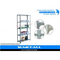 China Multi Purpose Adjustable Storage Shelving Slotted Angle Steel Racks on sale