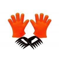 China Grilling BBQ Silicone Gloves Set 1 Paris Gloves + Bear Meat Claws on sale